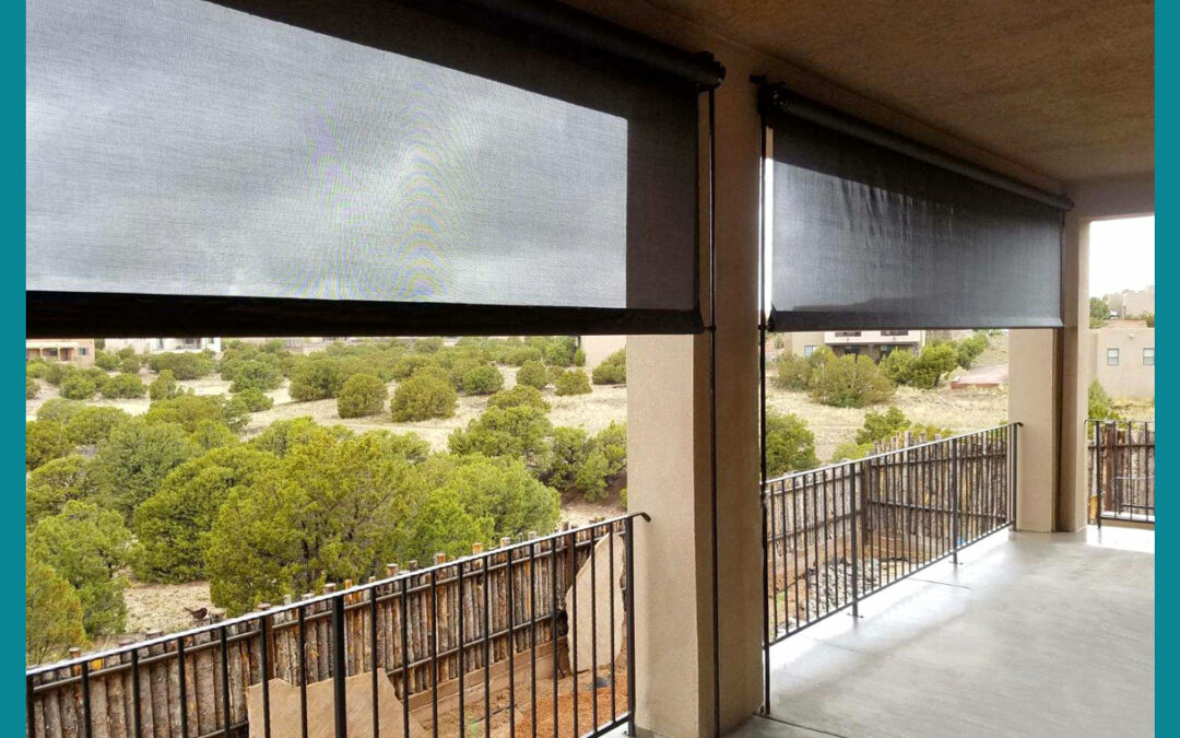 Outdoor Screens for Desert Living